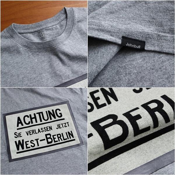 2016-04-29 半袖クルーネックプリントTシャツ(WEST-BERLIN) Johnbull ジョンブル 2