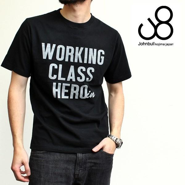 2016-04-29 半袖クルーネックプリントTシャツ(WORKING) Johnbull ジョンブル 1