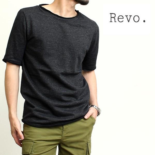 2016-07-15 ミニ裏毛カットオフデザイン半袖スウェットTシャツ