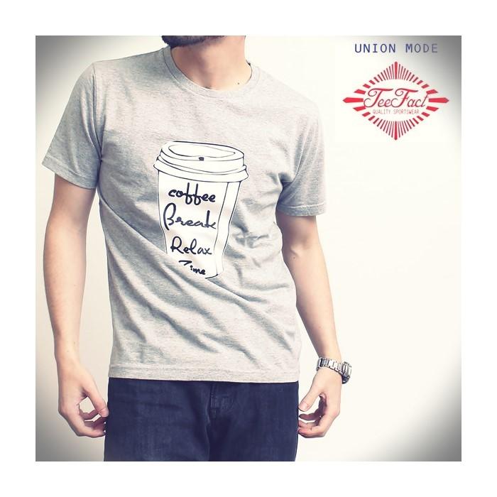2016-07-29 オリジナルデザイン半袖プリントTシャツ(Relax Time) ティーファクト TeeFact 1
