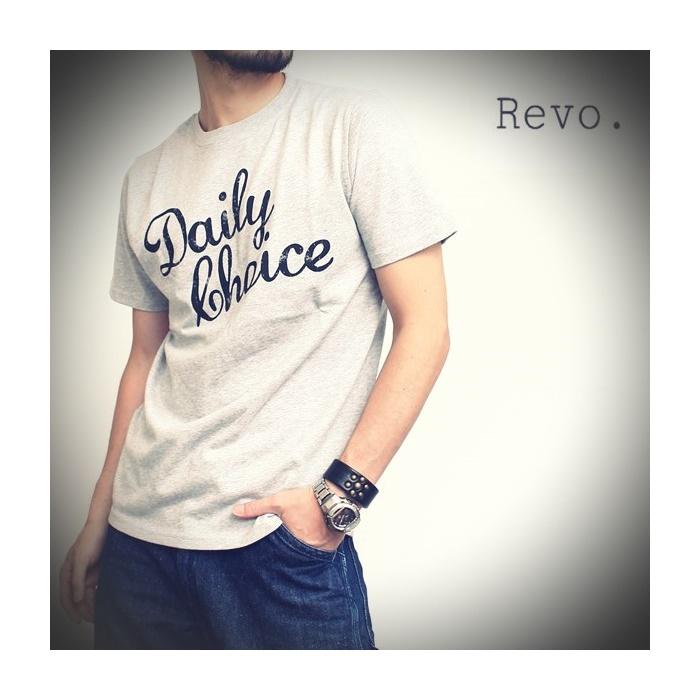2016-08-25 USAコットンプリントTシャツ Daily Choice レヴォ Revo 1 ビンテージ
