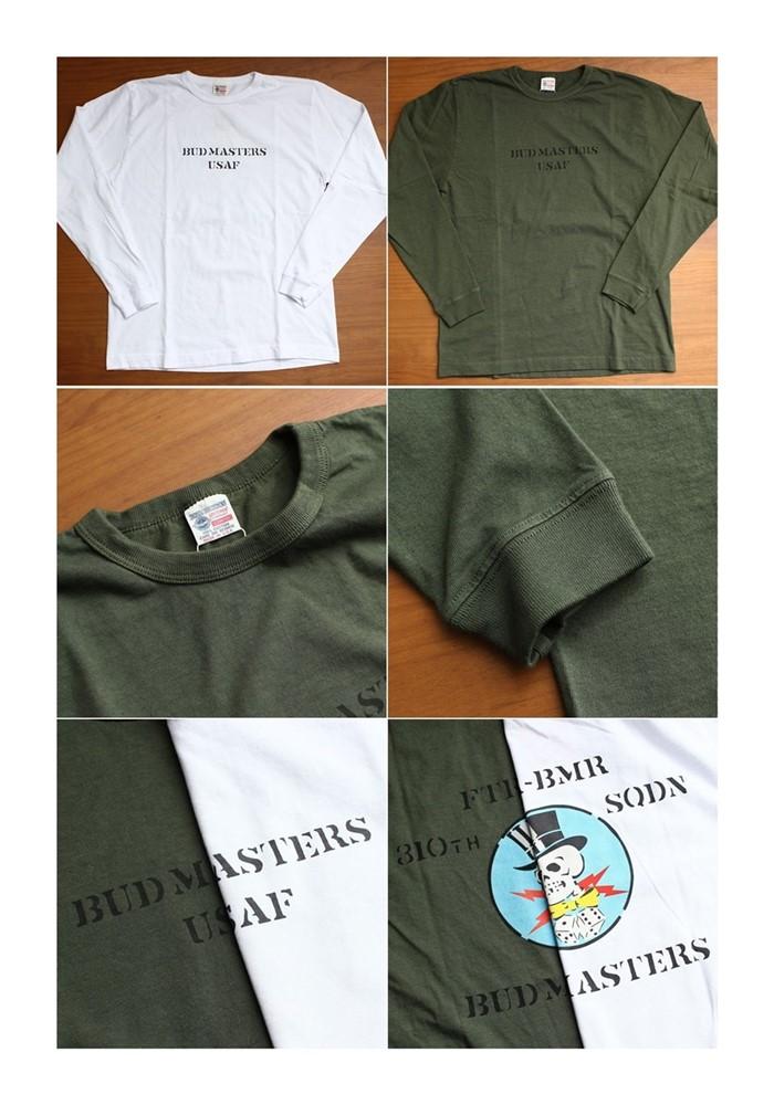 2016-08-28 アメリカ製長袖プリントTシャツ 310th FTR BOMB SQ バズリクソンズ BUZZ RICKSONS 5