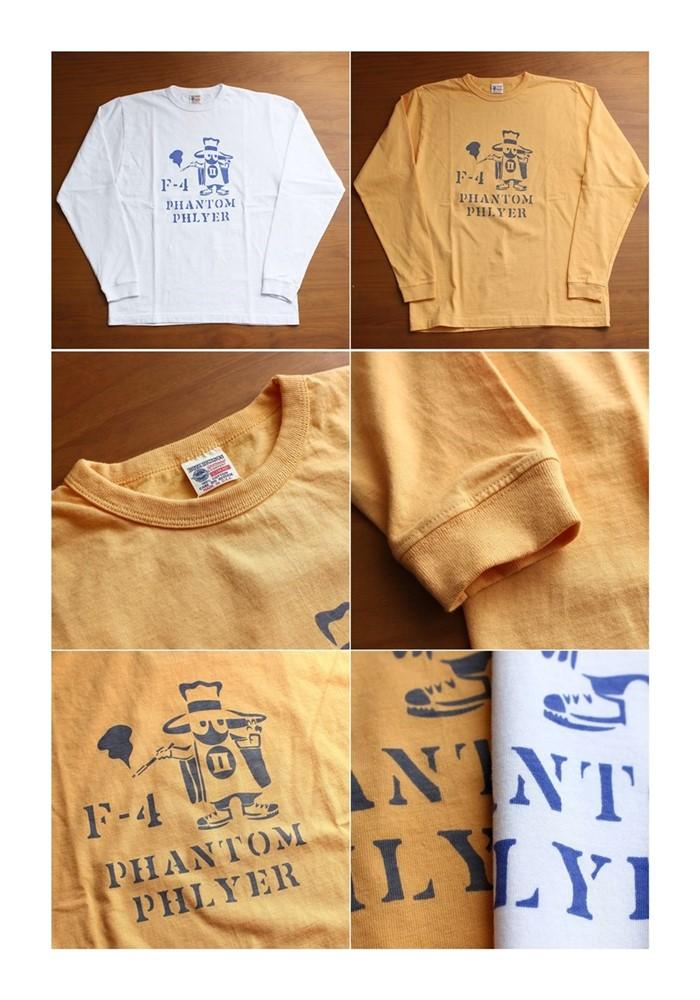 2016-08-28 アメリカ製長袖プリントTシャツ PHANTOM PHLYER バズリクソンズ BUZZ RICKSONS 5