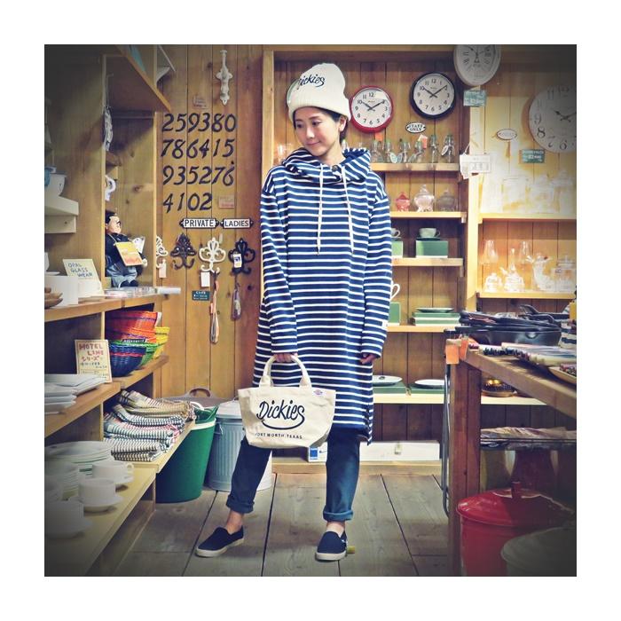 2016-09-05 ディッキーズ ニット帽 & トートバッグ 002 ビンテージ