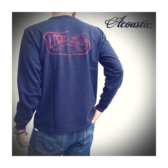 2016-09-22 ヘビーウェイト長袖プリントTシャツ LOCAL CUSTOM Acoustic アコースティック 1 ビンテージ