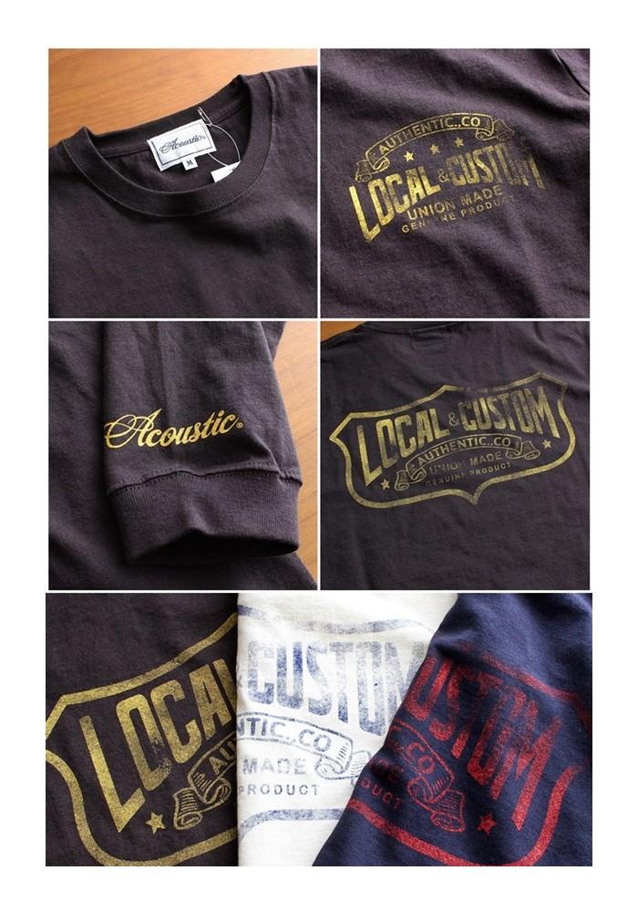 2016-09-22 ヘビーウェイト長袖プリントTシャツ LOCAL CUSTOM Acoustic アコースティック 6