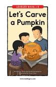 Let7s curve a pumpkin