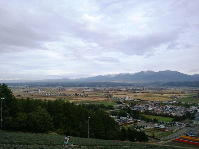 秋の中富良野展望台