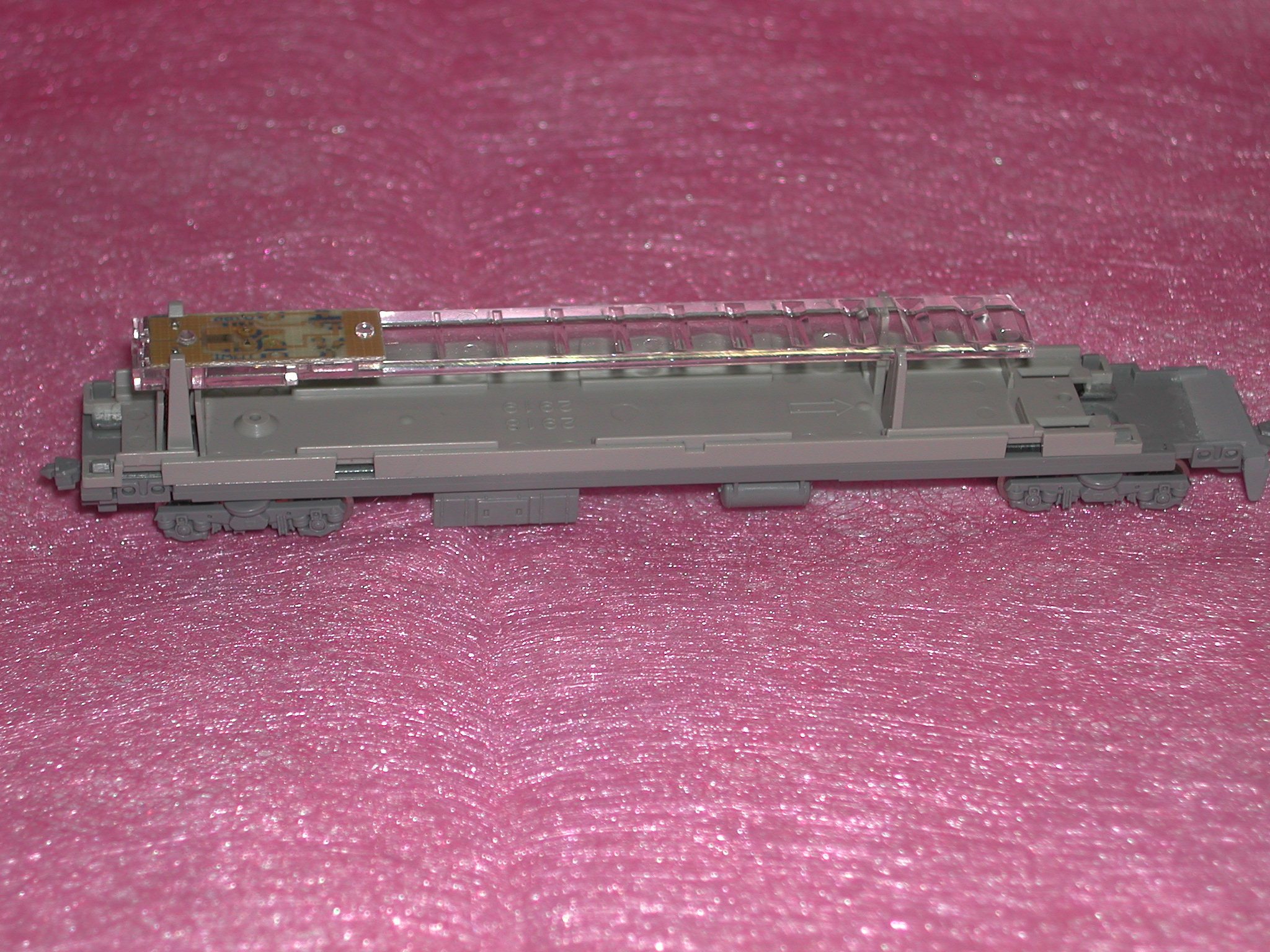 207系床下組立て完成2