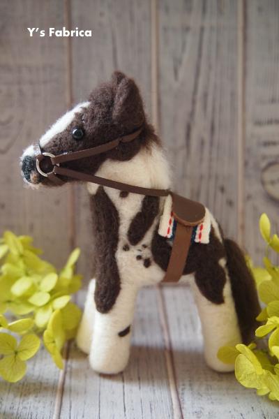 Sさまオーダーのお馬です。