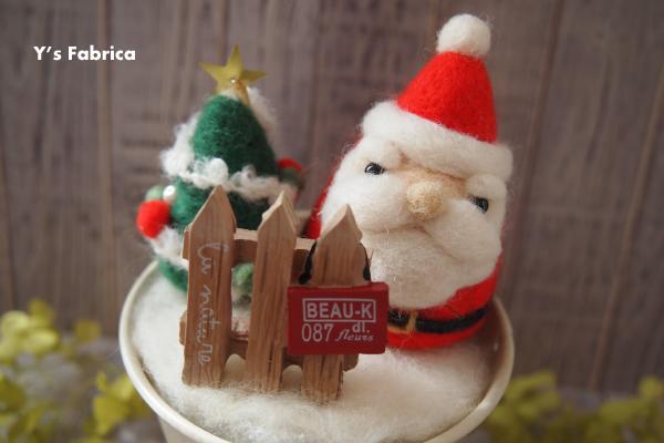 クリスマスに向けての試作品づくり。