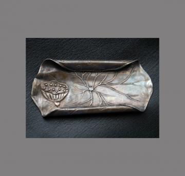 銀製茶杓 (1)