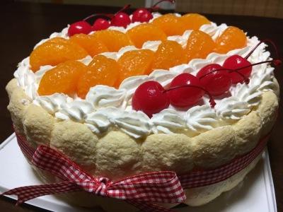 瑠沙のケーキ