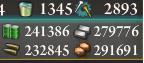 E-6丙突破時の資源
