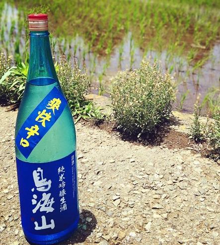 鳥海山 爽快辛口 純米吟醸生原酒