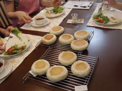 肉味噌パンご試食②