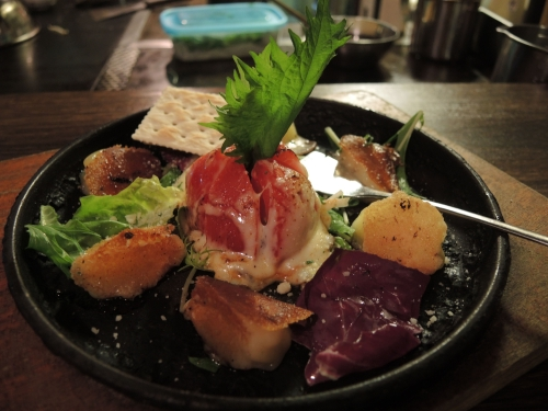 カチョヴァバロ焼きチーズ&トマト