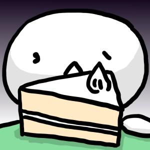 スーパーのケーキ