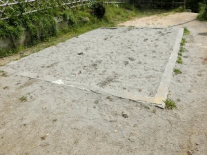 浜松城裏砂場