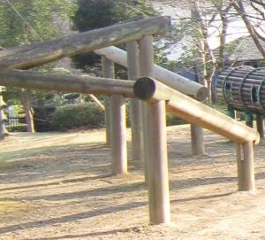 丸太くぐり 浜松城