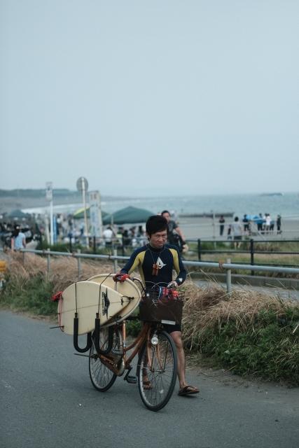 MILANDA5014と茅ヶ崎海岸