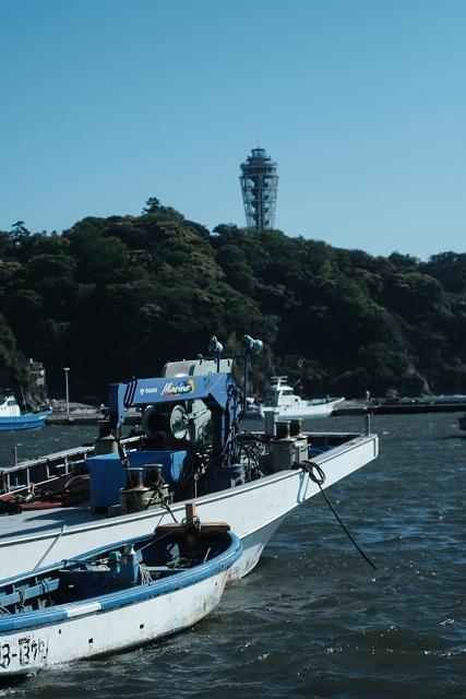 NFD35702835と片瀬江ノ島漁港