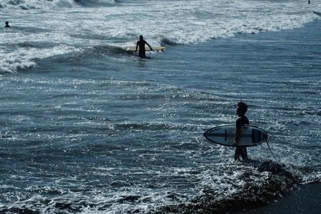 Nikkor3525と片瀬江ノ島海岸