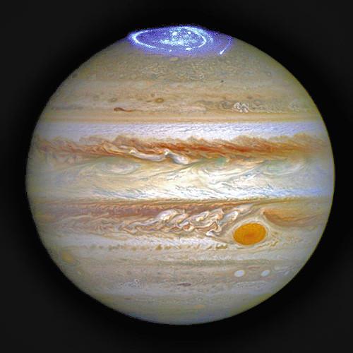 木星オーロラ