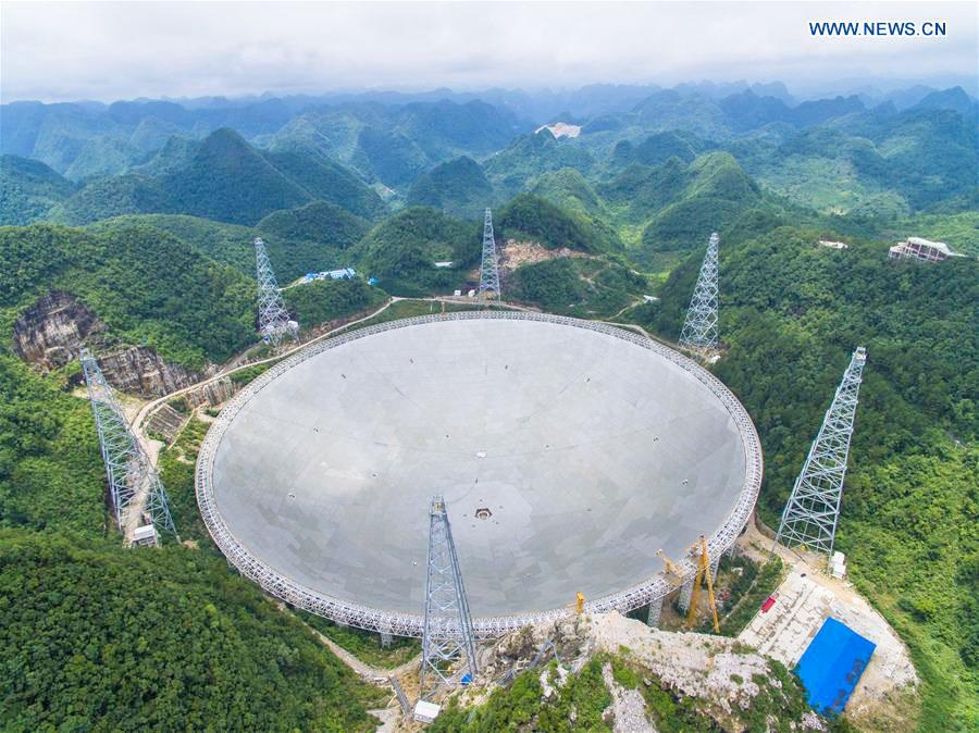 中国世界最大電波望遠鏡
