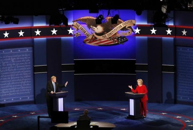 米大統領選討論会