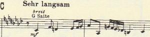 楽譜 ブルックナー第9(あなたは今日 私とともにパラダイスに~