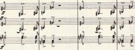 楽譜 ブルックナー第9(エリ、エリ、ラマ サバクタニ~ )その2
