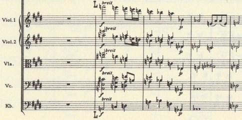楽譜 ブルックナー第9(成就された )