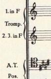 楽譜 ブルックナー第9(エリ、エリ、ラマ サバクタニ~ )その1