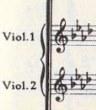 楽譜 ブルックナー第9(婦人よ、ご覧なさい~ )その1
