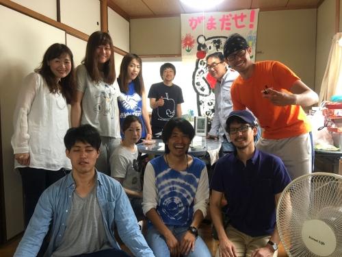 熊本のボランティアチーム