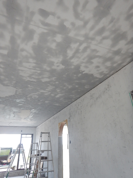 宮古島 天井 漆喰 DIY