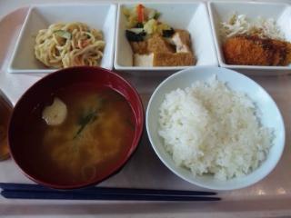 神戸学院 学食 20160419