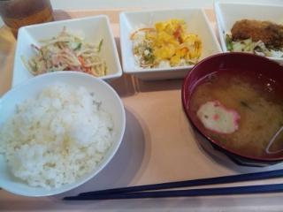 神戸学院 学食 20160506