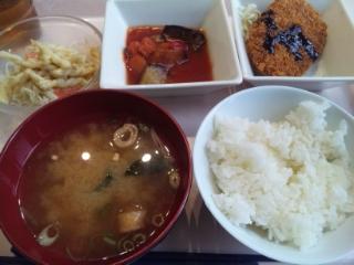 神戸学院 学食 20160622