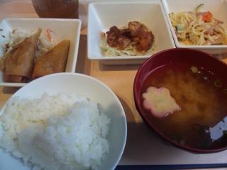 神戸学院 学食 20160922