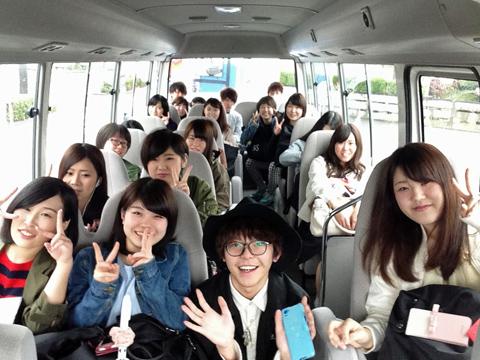 2016年4月14日朝バス
