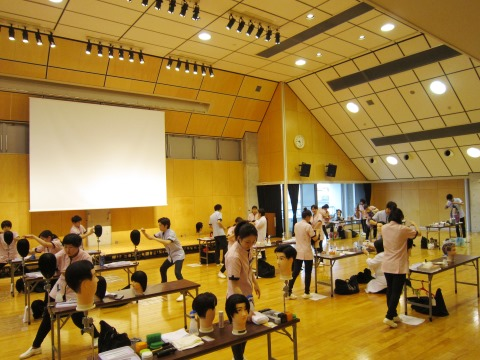理美容甲子園2016最終練習会2