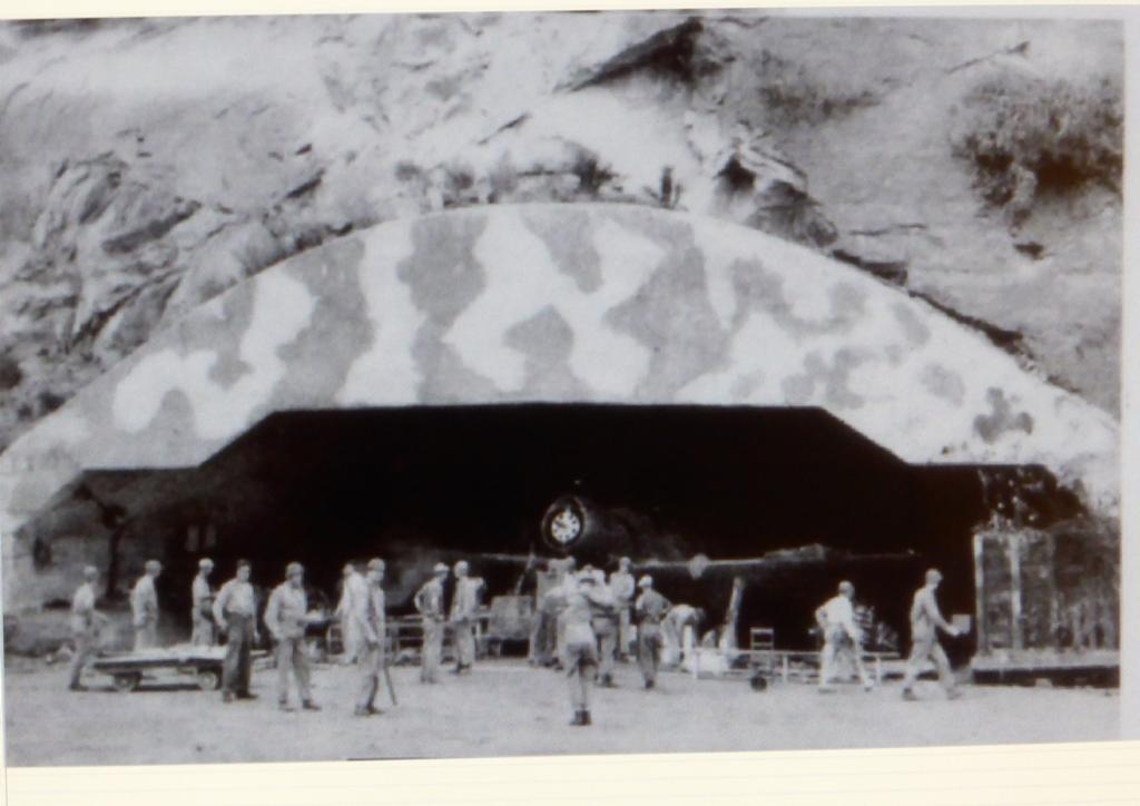 野島掩体壕1945