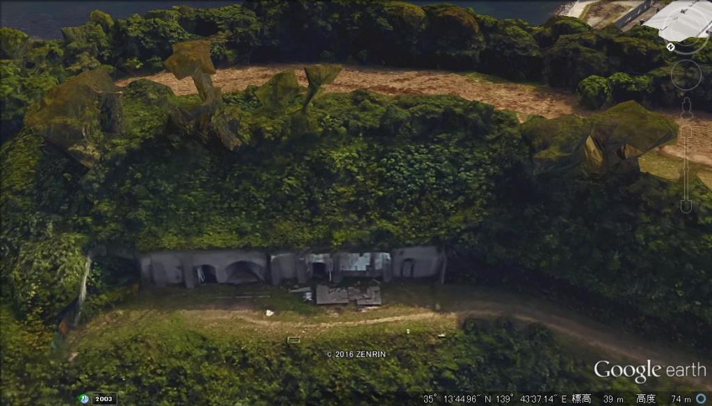 砲塔砲台機関部