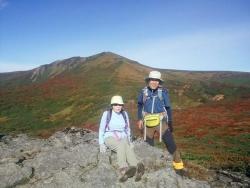 東栗駒山で