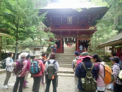花園神社のガイド