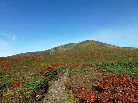 紅葉の栗駒山-1
