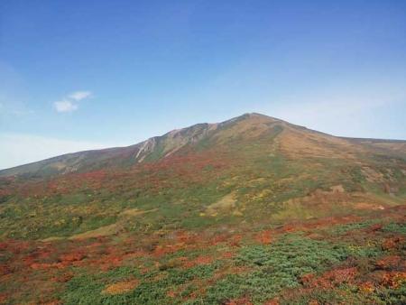 紅葉の栗駒山-2