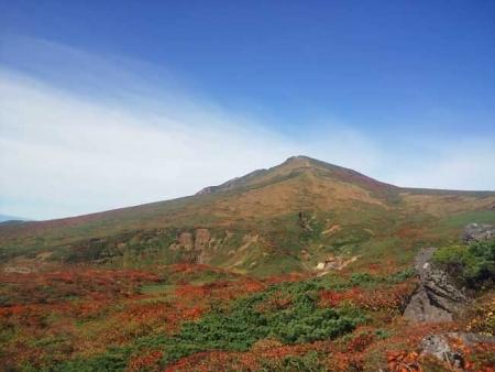 紅葉の栗駒山-3